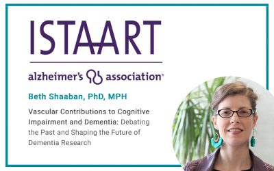 Beth Shaaban will be speaking at the Vascular Cognitive Disorders PIA webinar titled Vascular Contributions to Cognitive Impairment and Dementia: Debating the Past and Shaping the Future of Dementia Research